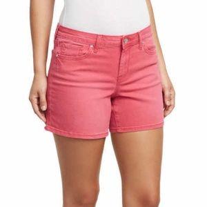 Jessica Simpson Ladies' Denim Short (Red, 6/28)